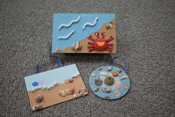 自由工作「貝殻のミニ飾り」開催のお知らせ