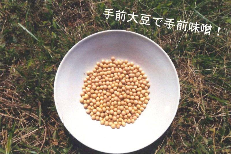 大豆畑の畝立てボランティア募集!