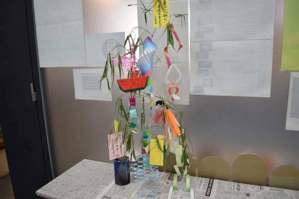 自由工作「七夕のミニ笹飾り」開催のお知らせ